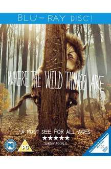 Where The Wild Things Are - Triple Play (Blu-ray + DVD + Digital Copy) - £7.99 @ Bee