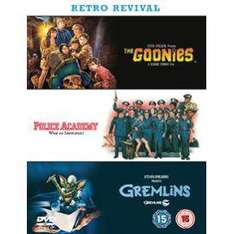 80s Classic Box Set: The Goonies / Police Academy / Gremlins (DVD) - £3.61 @ Price Minster Sold by Direct Offers
