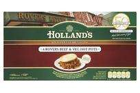 Hollands 4 pack rovers beef hotpot (b1g2f) £2.49 @ Morrisons