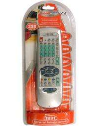 Universal 12 in 1 Remote Control For TV DVD Hi Fi & More - Just Pay £2.99 Postage @ Saverpoint