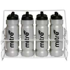 8 x Mitre 1L Waterbottles With A Wire Carrier - £11.99 @ Amazon