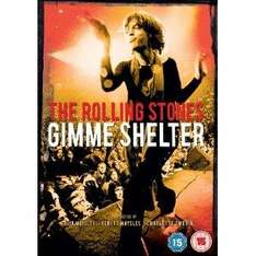 The Rolling Stones: Gimme Shelter (1970) (DVD) - £3.99 @ Amazon & Play