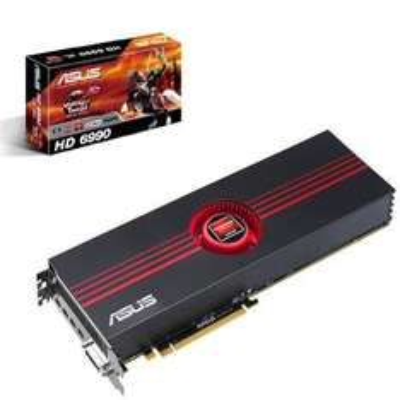 Asus HD 6990 4GB ATI - AMD Graphics Card GDDR5, GPU 830MHz/880MHz 3072 Cores - £507.04 @ Ballicom