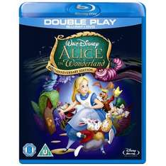 Alice In Wonderland (Animation) - Special Edition (Blu-ray + DVD) - £10.99 @ Bee