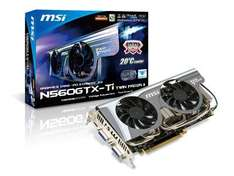 MSI 560 TI Twin Frozr II OC Edition - £179.99 *Today Only* @ Scan