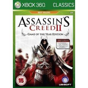 Assasin's Creed II:  GOTY Edition (Xbox 360) - £9.99 @ Amazon