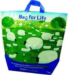 Tesco Bag for Life 10p BOGOF - instore