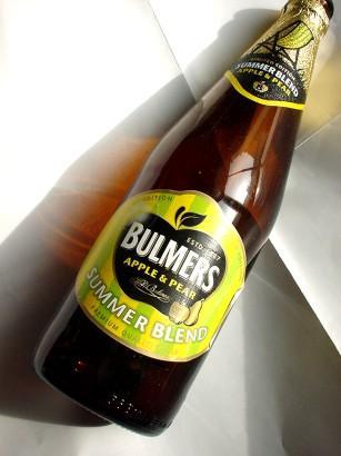Bulmers Summer Blend Apple & Pear Cider 568ml 89p per bottle instore Netto
