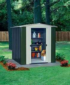 10 x 8 Deluxe Apex Metal Garden Shed £195.49 + Delivery *Using Code SHED15* @ Argos