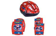Spider-Man Kids Bike Helmet & Protection Pads - Was £22.99 Now £7.99 *Reserve & Collect* @ Argos