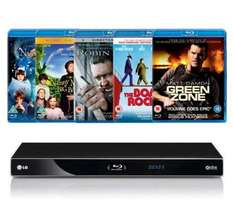 LG BD570 Blu Ray Player With 5 Blu Ray Titles - £124.99 Delivered @ Dixons