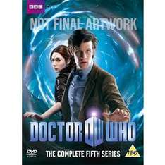 Doctor Who: The Complete Series 5  On Blu-ray -  £34.01 (using voucher) @ Price Minister / Gzoop