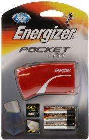 Energizer LED Pocket Light  / Torch with Batteries - 37p @ Tesco (Instore)