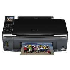 Epson Stylus SX415 - All-in-One Printer (Individual Inks, 6.3cm LCD Viewer, Memory Card Slots) - £39.99 @ Argos