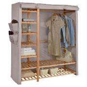 Triple Wardrobe with Shelving - was £70 now £48 @ Tesco Direct