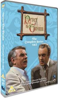 Never The Twain: Series 1 & 2 On DVD - £4.85 @ Zavvi