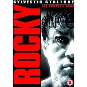 Rocky: The Complete Saga (DVD) (6 Disc) - £13.93 @ Amazon
