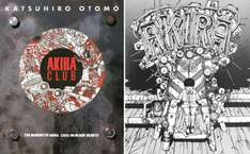 Akira Club Artbook (Book) - £3.99 Instore @ The Works