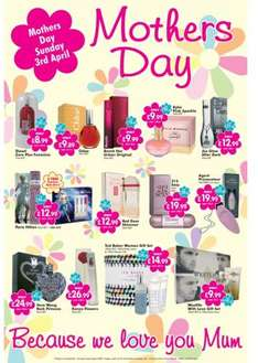 mothers day pressies from £4.99 @ Savers
