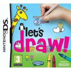 Let's Draw! (DS) - £11.99 @ Amazon & Play