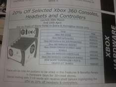 20% off Selected Xbox Consoles & Accessories @ Tesco