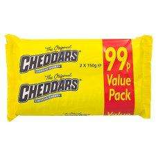 Mcvities Cheddars 150g double pack (300g)-99p @ Tesco