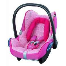Maxi-Cosi Cabriofix Infant Carrier Car Seat (Lily Pink) - £79.99 @ Amazon
