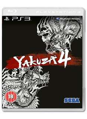 Yakuza 4 PS3 Standard edition £24.99, steelbook £29.99 @ Game
