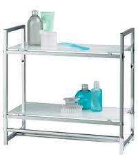 Chrome Plated 2 Tier Glass Wall Rack Less than 1/2 price @ Argos