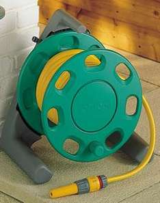 Hozelock Hose Reel with 25m Hose £22.99 @ garden4less was £56.43