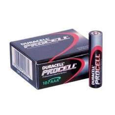 Duracell Procell Alkaline AAA Battery - 10 Pack - £2.49 Delivered @ Amazon Sold By Media-R-Us