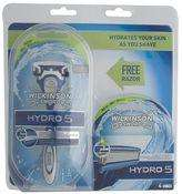 boots, wilkinson sword hydro 5, 4 blades and a free razor with 2 additional blades £7.49 @ Boots