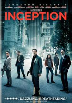 Inception On DVD (2 Disc Edition) - £6.29 (with code) @ Bee
