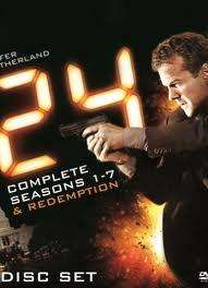24: Complete Series 1-8 On DVD - £77.58 (with code) @ Bee