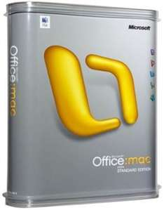 Mac Office 2011 - Only £37.89 For 2 Macs @ Software 4 Students