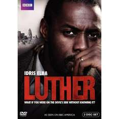 Luther: Series 1 On DVD - £4.79 delivered (with code SILLYBEE20) @ Bee