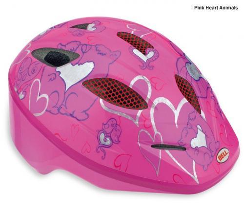 Bell Splash Toddler Bike Helmet 46-50cm - Pink Heart Animals - £9.98 Delivered @ Chain Reaction Cycles