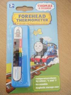 Thomas The Tank Childrens Forehead Thermometer In Case - Only 40p *Instore* @ Asda
