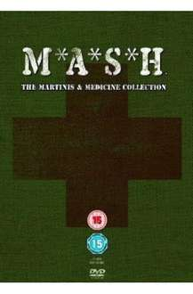 M*A*S*H - The Martinis & Medicine Collection (DVD) (15 Disc) - £49.97 @ Amazon