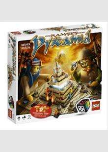 Lego Games: Ramses Pyramid - (Was £24.99) Now £5.99 & Minotaurus Or Atlantis - (Was £19.99) Now £9.99 Each @ Base