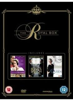 *PRE ORDER* The Royal Box Set:  The Kings Speech / The Queen / Young Victoria (DVD) (3 Disc) - £12.99 @ Sainsburys Entertainment