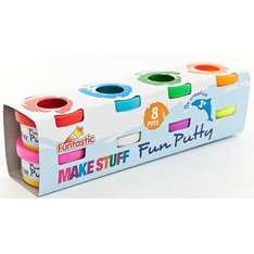 8 Tubs of Kids Play Putty £1 @ Poundland