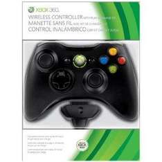 Xbox 360 Wireless Controller + Play & Charge Kit - In Black - £29.99 Delivered @ Amazon