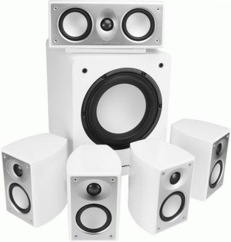 Mordaunt Short Alumni System - White - £349.95 @ Richer Sounds