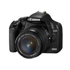 Canon EOS 500D SLR Camera (incl. EF-S 18-55 mm IS Lens Kit) - £469.98 @ Amazon