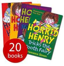 Horrid Henry's Big Bad Box - 20 Books - Only £15 rrp £97.80 @ The Book People