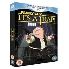 Family Guy - It's A Trap On Blu-ray (Limited Edition with T-Shirt, Collector's Cards and Script) - £9.99 @ Amazon UK
