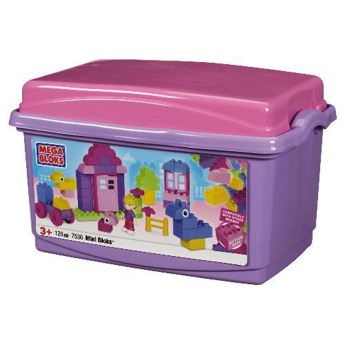 MegaBloks Mini Brick Tub Pink - Was £30 Now £15 @ Tesco Direct