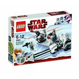 LEGO Star Wars 8084 Snowtrooper Battle Pack & LEGO Star Wars 8083 Rebel Trooper Battle Pack - £7.99 Each @ Amazon