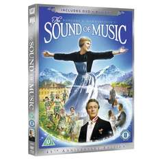 The Sound of Music 45th Anniversary Edition (1965) (Blu-ray + DVD) (3 Disc) - £7.49 @ Amazon